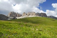 Passo Pordoi, Dolomites Royalty Free Stock Photos