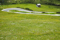Passo Pordoi, Dolomites Stock Photo