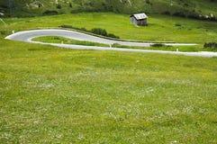 Passo Pordoi, Dolomites Stock Photo