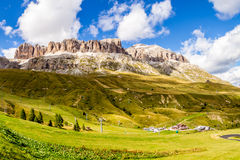Passo Pordoi, Italian Alps Royalty Free Stock Photo