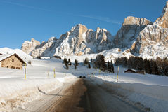 Passo Rolle, The Dolomites, Northern Italy Royalty Free Stock Image