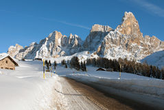 Passo Rolle, The Dolomites, Northern Italy Royalty Free Stock Photography