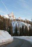 Passo Rolle, The Dolomites, Northern Italy Royalty Free Stock Photos