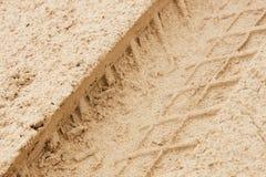 Passo seguinte na areia molhada Imagens de Stock
