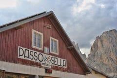Passo Sella zdjęcie royalty free