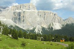 Passo Sella, Dolomites Stock Photography