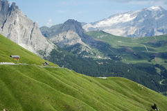 Passo Sella, Dolomites Royalty Free Stock Photo