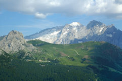 Passo Sella, Dolomites Royalty Free Stock Photography
