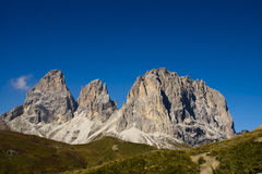 Passo Sella, Dolomites Italy Stock Photos