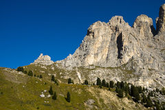 Passo Sella, Dolomites Italy Stock Photo