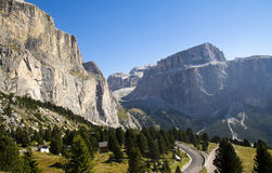 Passo Sella, Italy Royalty Free Stock Photo