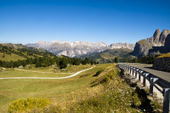 Passo Sella, Italy Stock Photo