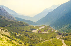 Passo Sempione (Simplon Pass), Switzerland Stock Photography