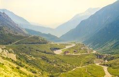 Passo Sempione (Simplon Pass), Switzerland Stock Photography