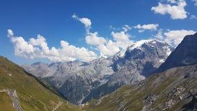 Passo Stelvio Italy stock image