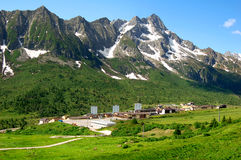 Passo Tonale-Italy Stock Photo