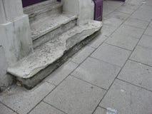 Passos concretos resistidos Foto de Stock
