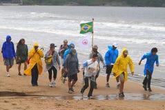 Passos de Anchieta Pilgrimage_01 foto de archivo