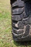 Passos do pneu Fotografia de Stock Royalty Free