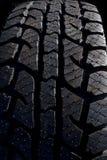 Passos do pneu imagem de stock