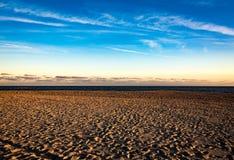 Passos no por do sol Fotos de Stock Royalty Free