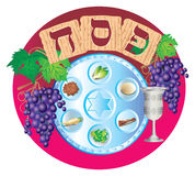 Passover. Holiday of Pesah - clearing of Jews of slavery in Egypt Royalty Free Stock Photo