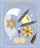 Passover background Stock Image