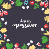 Passover background illustration. EPS 10 Royalty Free Stock Photography