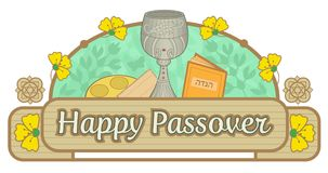 Passover Banner Royalty Free Stock Photos
