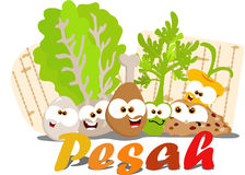 Passover food Stock Image