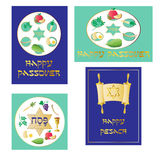 Passover graphics Royalty Free Stock Images