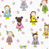 Passover pattern with children Stock Photos