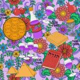 Passover seamless pattern background Stock Photos