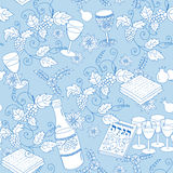 Passover seamless pattern background Royalty Free Stock Photography