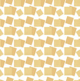 Passover seamless pattern with matzah. Pesach endless background, texture. Vector illustration. Stock Images