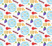 Passover seamless pattern. Pesach endless background, texture. Jewish holiday backdrop. Vector illustration. vector illustration