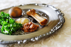 Free Passover Seder Plate Royalty Free Stock Photography - 23485717