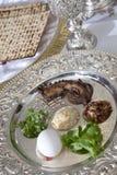 Passover Seder talerz Obrazy Stock