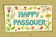 Passover Sign Stock Photo