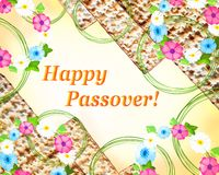 Passover - spring holiday in Judaism vector illustration
