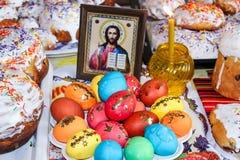 Passover sweet  cakes. Traditional ukrainian celebration food Royalty Free Stock Photo
