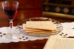 Passover tableau Stock Photo