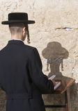 Passover in the Western wall Stock Images