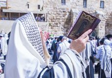 Passover in the Western wall Royalty Free Stock Images
