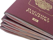 Passport Stock Photography