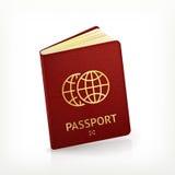 Passport. Computer illustration on white background Stock Images