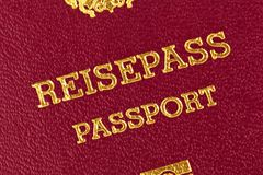Passport Stock Image