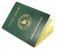 Passport of Bangladesh Stock Photos
