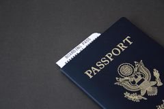 Passport and boarding pass