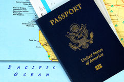 Passport book Royalty Free Stock Images